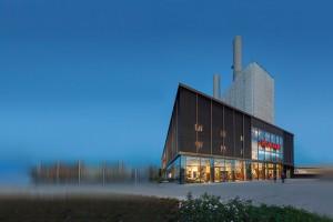 KARE Kraftwerk München Gebäudeansicht