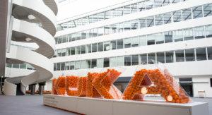 Beschallungtechnik Beschallungskonzept KUKA Augsburg Atrium