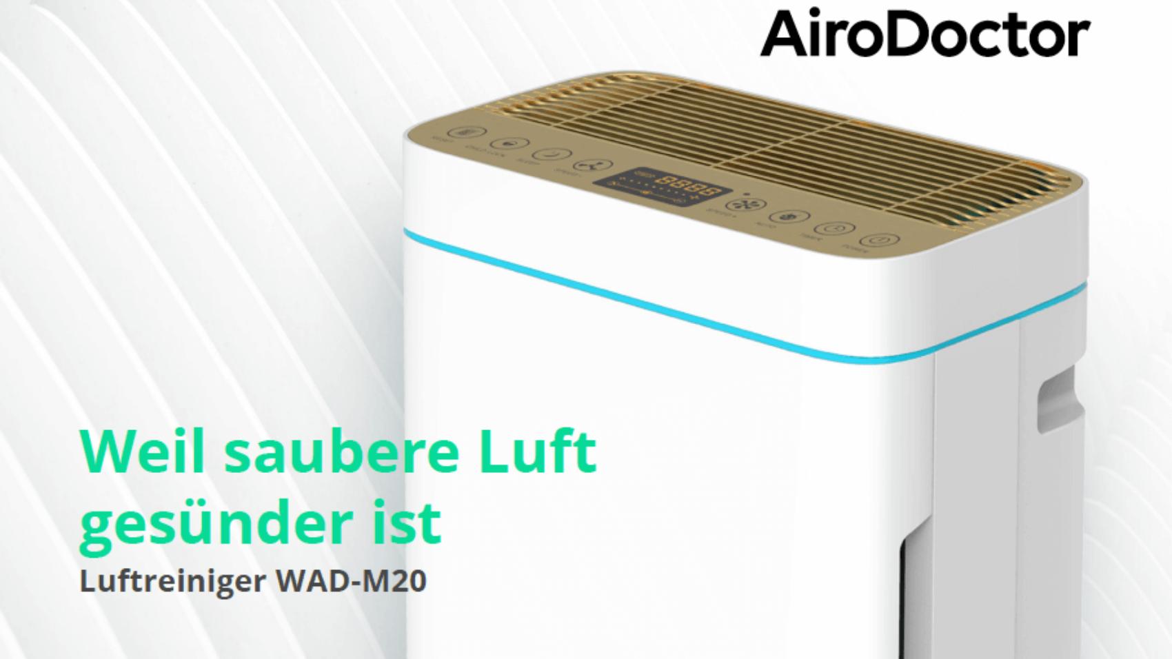 AiroDoctor, antiviraler Luftreiniger